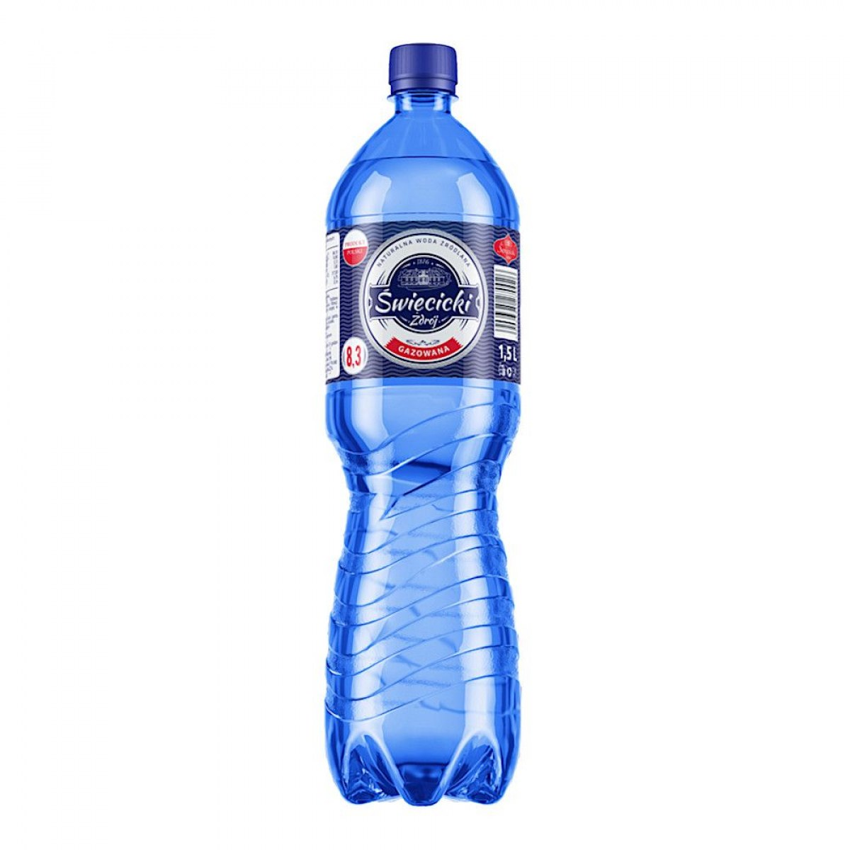 WODA GAZOWANA ŚWIĘCICKI 1,5 L