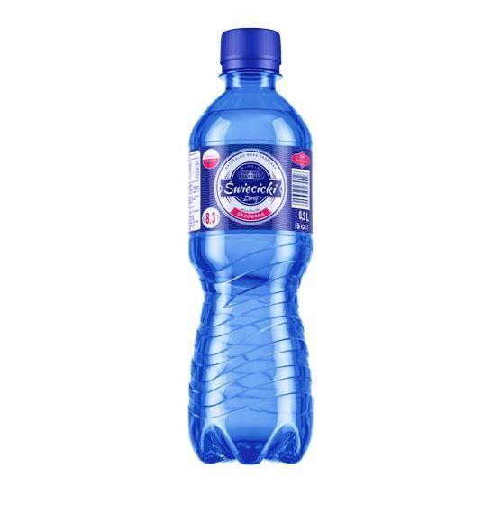 WODA GAZOWANA 0,5 L - ŚWIĘCICKI ZDRÓJ