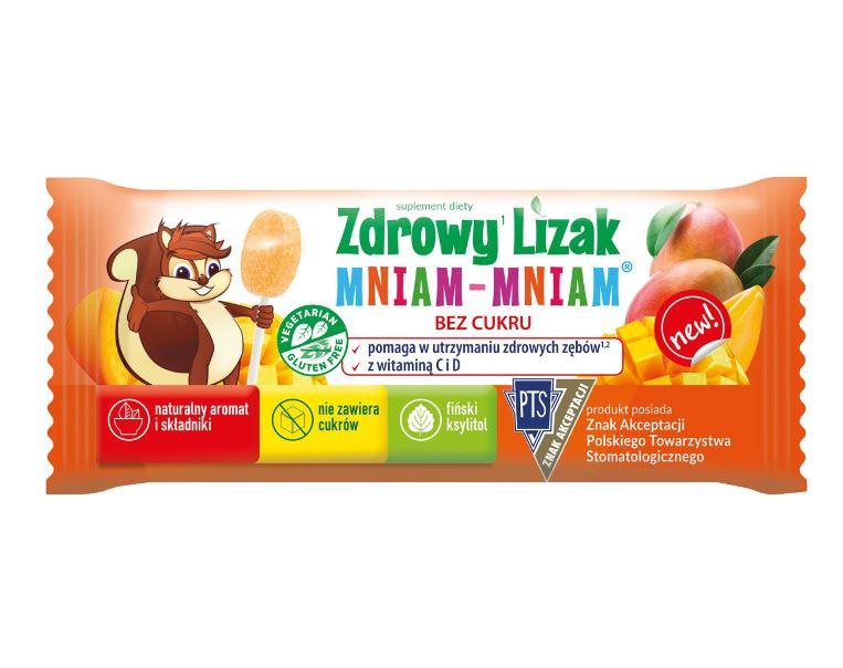 ZDROWY LIZAK MNIAM MNIAM MANGO 6G - STARPHARMA
