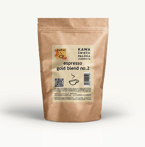 KAWA PALONA ESPRESSO GOLD BLEND NO.2 250 G - KAFFA ETC