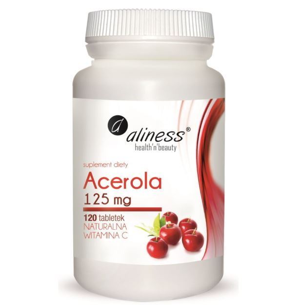 ACEROLA 125MG 120 TABLETEK - ALINESS
