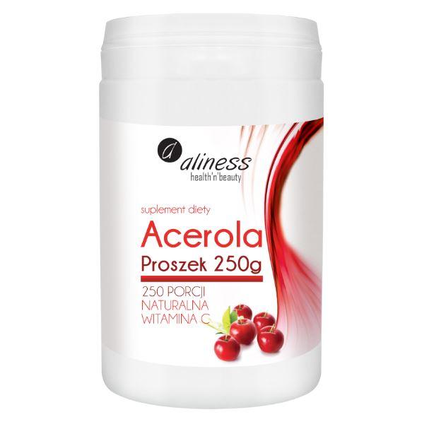 ACEROLA PROSZEK 250G - ALLINESS