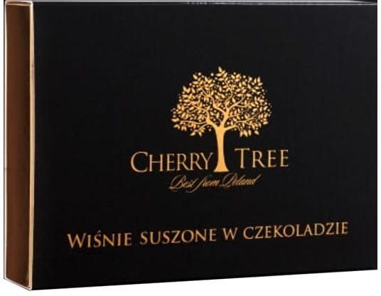 WIŚNIE SUSZONE W CZEKOLADZIE 150 G CHERRY TREE