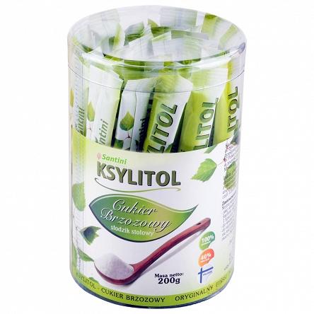 KSYLITOL W SASZETKACH (40 x 5 g) 200 g - SANTINI